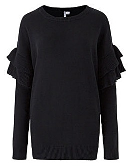 Ruffle Sleeve Value Jumper