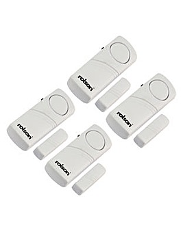 Rolson 4pc Window/Door Alarm Set