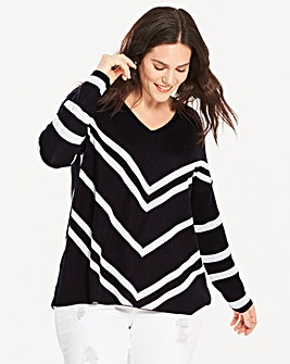 Chevron Jumper