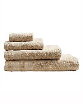 Egyptian Cotton Towel Range Natural