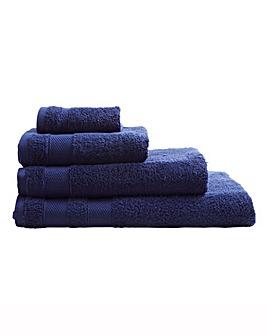 Egyptian Cotton Towel Range Navy