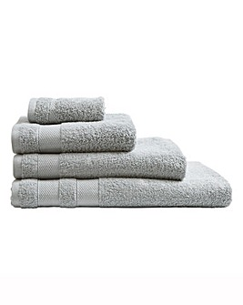 Egyptian Cotton Towel Range Silver