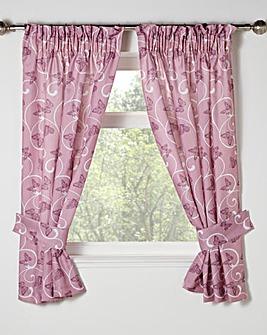 Papillon Bathroom Curtain Set