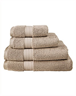 Pima Cotton Luxury Towel Range - Walnut