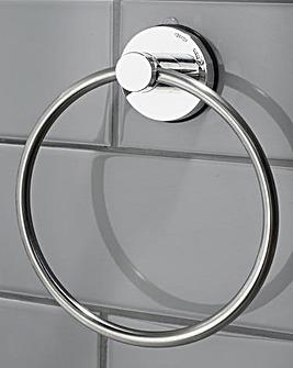 Gecko Stainless Steel Ring Towel Hanger