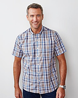 Premier Man Short-Sleeve Check Shirt