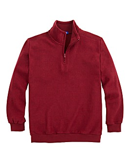 Premier Man Zip-Neck Sweatshirt