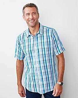 Premier Man Short-Sleeve Check Shirt