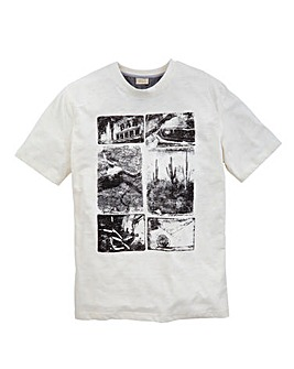 WILLIAMS & BROWN Mighty Print T-Shirt