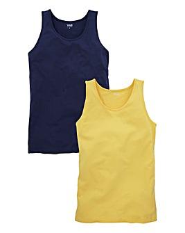WILLIAMS & BROWN Pack of 2 Vests