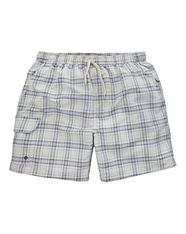 WILLIAMS & BROWN Mighty Check Swimshorts