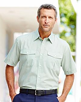 Premier Man Short Sleeve Pilot Shirt