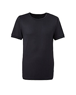 Southbay Black S/S Thermal T-Shirt