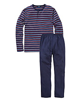 Southbay Striped Top Long-Sleeved Set
