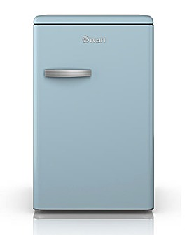 Swan Retro 130L Larder Fridge - Blue
