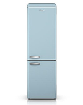 Swan Retro 300L Fridge Freezer - Blue