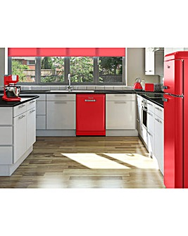 Swan Retro 12 Place Dishwasher - Red