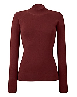 Rib Turtle-Neck Jumper