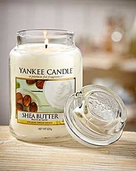 Yankee Shea Butter Large Jar Candle