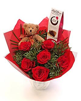 Columbian Rose Bouquet