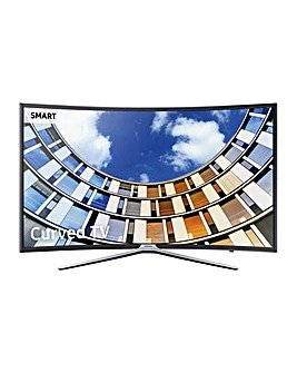 Samsung HD Smart Curved 55 Inch TV + Ins