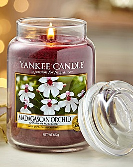 Yankee Candle Madagascan Orchid Jar
