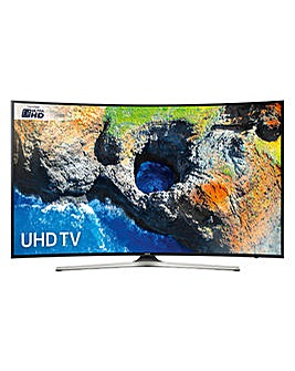 Samsung UHD Smart Curved 55 Inch TV + In