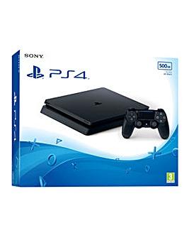 PS4 Slim 500GB Black