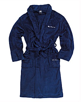 Ben Sherman Gents Fleece Robe