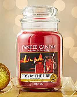 Yankee Candle Cosy By The Fire Large Jar