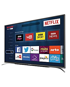 SHARP 49 Inch HD SMART TV and INSTALL