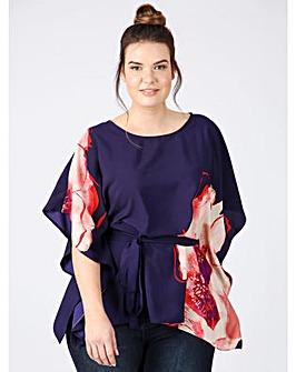 Lovedrobe GB floral kimono top