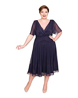 Scarlett & Jo Marilyn Float Sleeve Dress