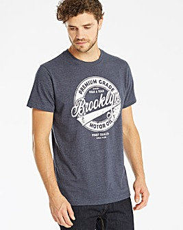 Jacamo Grade Graphic T-Shirt Long