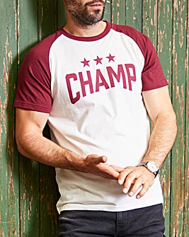 Jacamo Champs Graphic T-Shirt Long