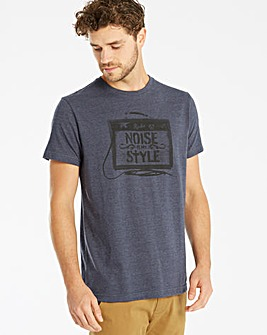 Jacamo Amps Graphic T-Shirt Long