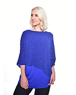 Grace Made in Britain glitter tunic