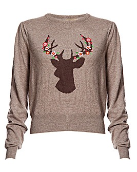 Lindy Bop Caitie Deer Sweater