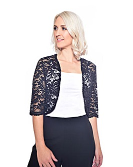 Grace Made in Britain lace bolero