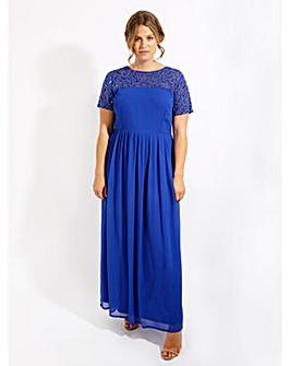Lovedrobe Luxe Sequin cobalt Maxi Dress