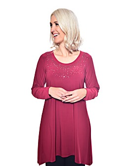 Grace Made in Britain stud tunic
