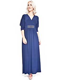 Grace open arm maxi dress