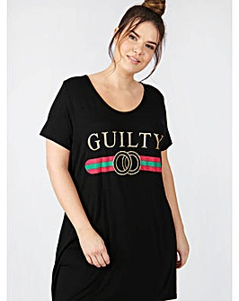 Koko black guilty print tunic