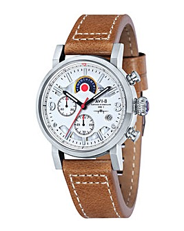 AVI-8 Hawker Hurricane Watch - Brown