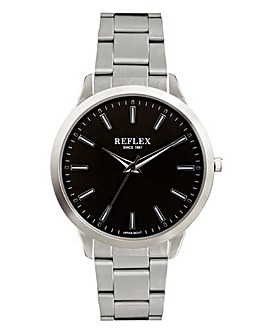 Gents Bracelet Watch With Black Dial