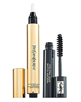 YSL Touch Eclat No 2 and Black Mascara
