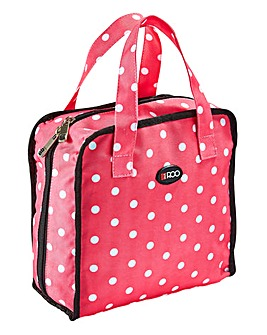 Roo Beauty Polka Dot Bitzee Cosmetic Bag