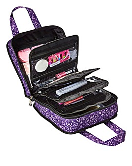 Roo Beauty Purple Bitzee Cosmetic Bag