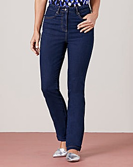 Straight Leg Stretch Jean Regular
