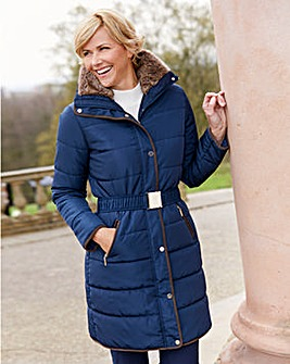 Dannimac Quilted Jacket with Belt